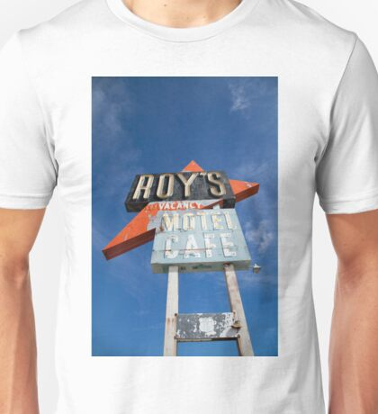 Roy's Sign, Amboy Unisex T-Shirt