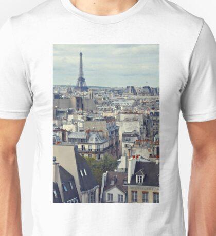 Roof tops of Paris T-Shirt