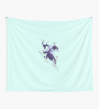 Sea queens Wall Tapestry