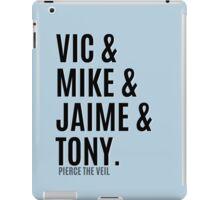 Vic &  Mike & Jaime & Tony iPad Case/Skin