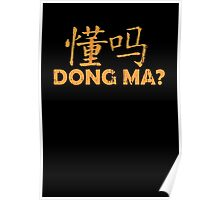 Dong Ma? Poster