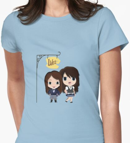 Gilmore Girls Version 2 Womens Fitted T-Shirt