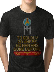 Stitch Trek v2 Tri-blend T-Shirt