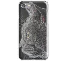 Blue, a British Blue cat iPhone Case/Skin