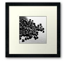 Don't Spill The Beans I Framed Print