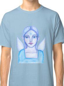 ice blue snow fairy Classic T-Shirt