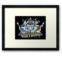 Riverbottom Nightmare Band Framed Print