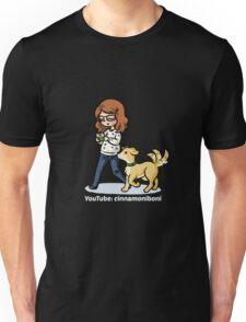Chibi cinnamoniboni and Phoebe - white font Unisex T-Shirt