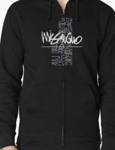 MissingNo Brand Zipped Hoodie