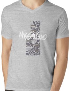 MissingNo Brand Mens V-Neck T-Shirt