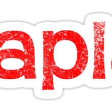 QAPLA'! Sticker
