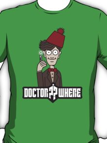 Doctor Where T-Shirt