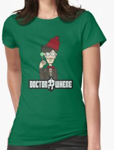 Doctor Where Womens Fitted T-Shirt
