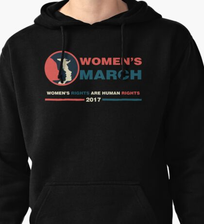 WOMEN'S MARCH SHIRT Pullover Hoodie