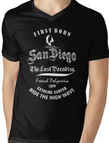 San Diego  Mens V-Neck T-Shirt