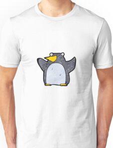 funny cartoon penguin Unisex T-Shirt
