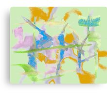 Watercolor Abstraction Canvas Print