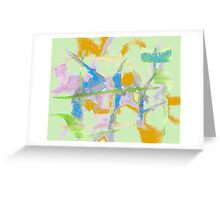 Watercolor Abstraction Greeting Card
