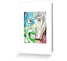 Avengers All 4 One (poster effect) Greeting Card