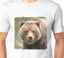 Happy Grizzly Unisex T-Shirt