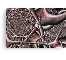 Twisted Steel Canvas Print
