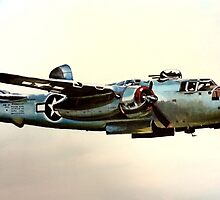 North American B-25 Mitchell by Eric Houghland