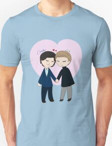 Chibi Charles And Erik T-Shirt