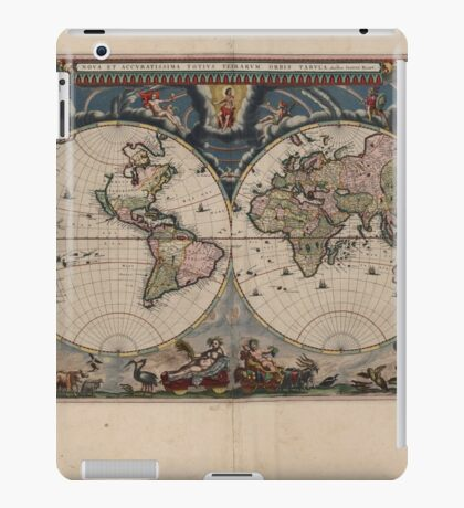World Map 1664 iPad Case/Skin
