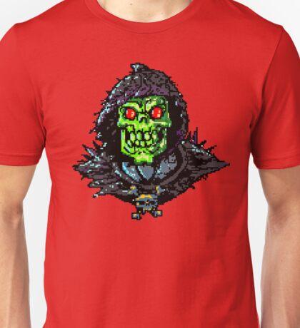 8 Bit Skeletron Unisex T-Shirt