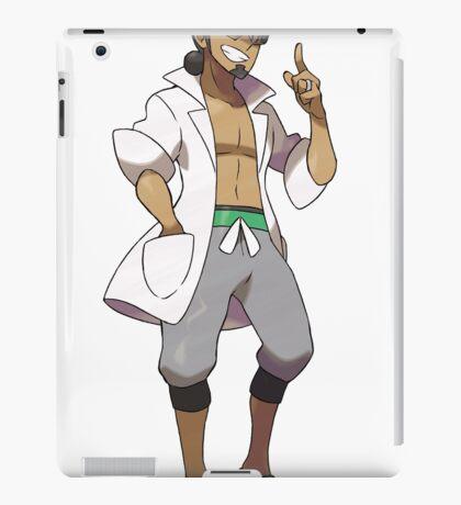 Professor Kukui - Pokemon Professor of Aloha aka Masked Royal iPad Case/Skin