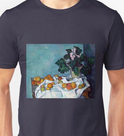 Paul Cezanne Still Life Apples and Primroses Unisex T-Shirt