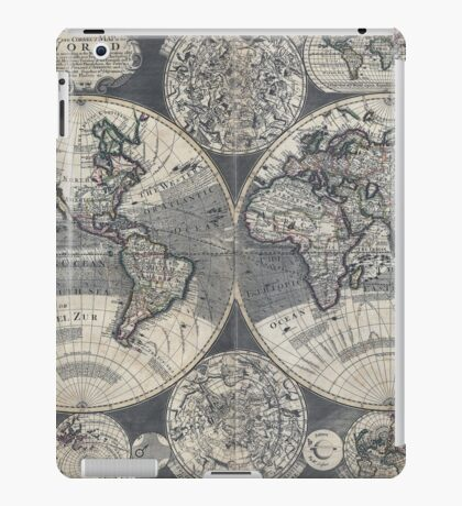 World Map 1702 iPad Case/Skin