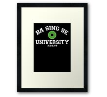 Ba Sing Se University  Framed Print