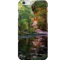 West Fork Reflections iPhone Case/Skin