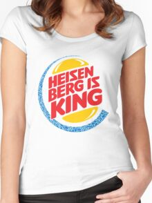 Heisenberg Is King Women's Fitted Scoop T-Shirt