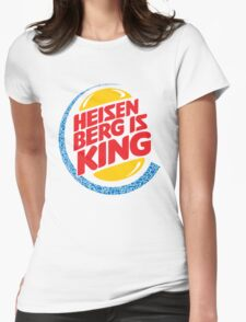 Heisenberg Is King Womens Fitted T-Shirt