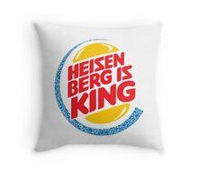 Heisenberg Is King Throw Pillow