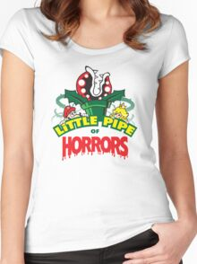 Little Pipe of Horrors Women's Fitted Scoop T-Shirt