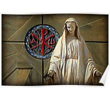 Blessed Virgin Mary Poster