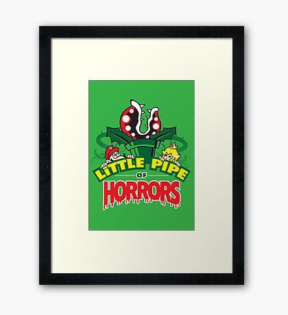 Little Pipe of Horrors Framed Print