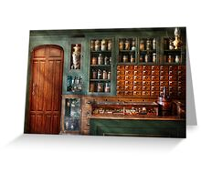Pharmacy - Medicine - Pharmaceutical remedies  Greeting Card