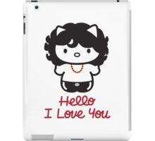 Hello, I Love You iPad Case/Skin