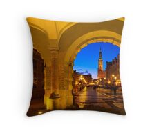 GDANSK 01 Throw Pillow