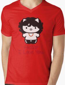 Hello, I Love You Mens V-Neck T-Shirt
