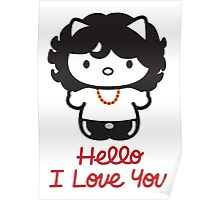 Hello, I Love You Poster