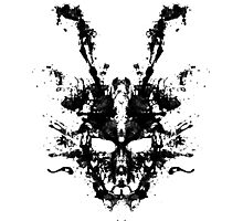 Darko Skull Photographic Print