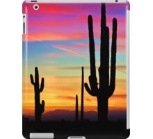A Southwest Saguaro Sunset  iPad Case/Skin