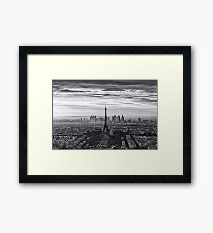PARIS 10 Framed Print