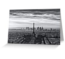PARIS 10 Greeting Card