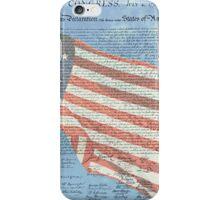 Declaration of Independence & Star-Spangled Banner iPhone Case/Skin